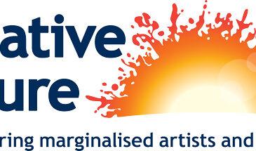 Creative Future's logo featuring a sun