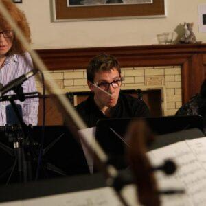 James Rose Conducting next to Sian Edwards