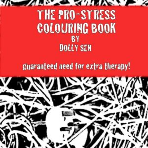 Pro-stress colouring book