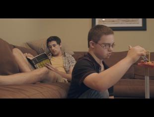 Film still from 'A Normal Life'.