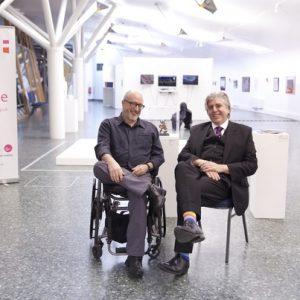 Tony Heaton and David Hevey