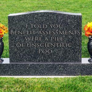 Benefit Assessment Epitaph