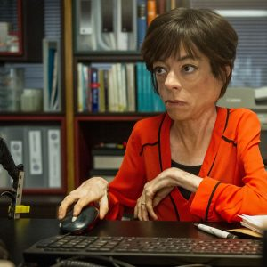 Photo of liz Carr as Clarissa Mullery in Silent Witness