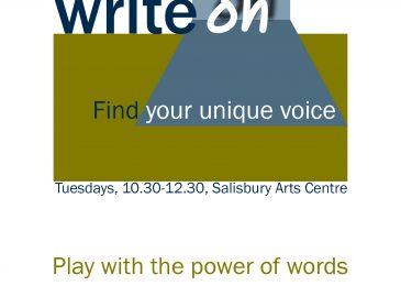 Write On workshop flyer