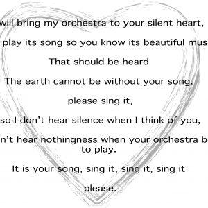 Dolly Sen poem: Orchestra