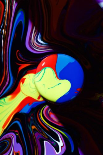 Abstract colourful photo