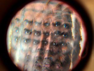 Kaleidoscopic mirror